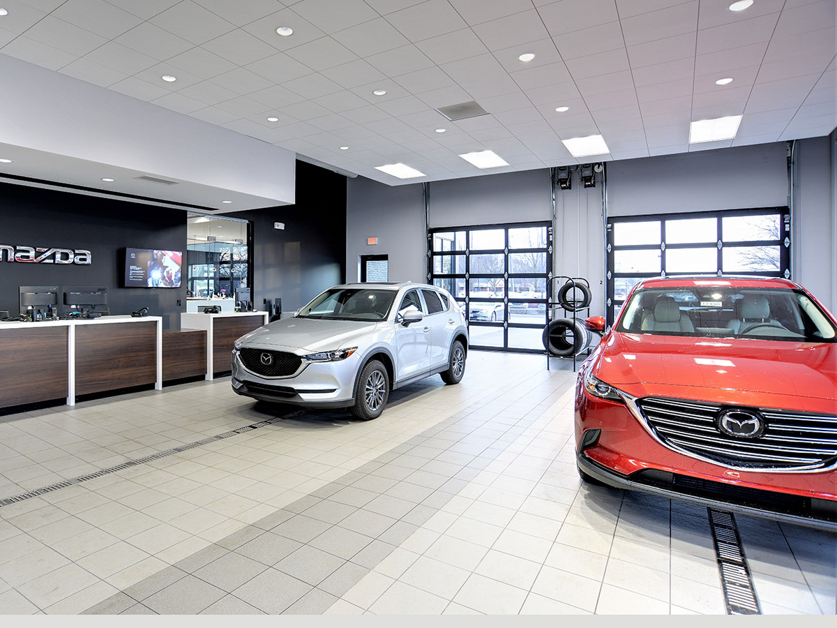 Germain Mazda of Columbus Waiting Area