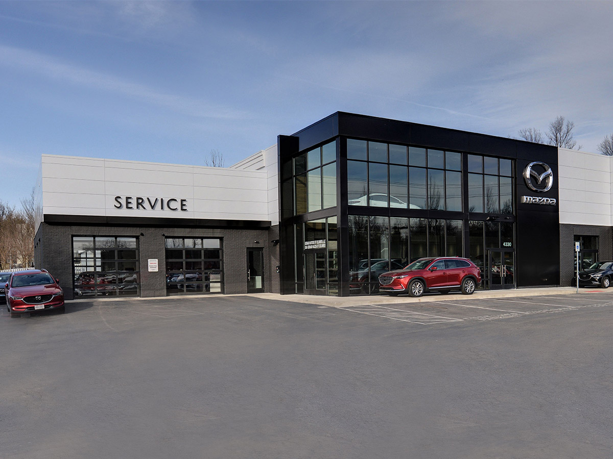 Germain Mazda of Columbus Service Bay