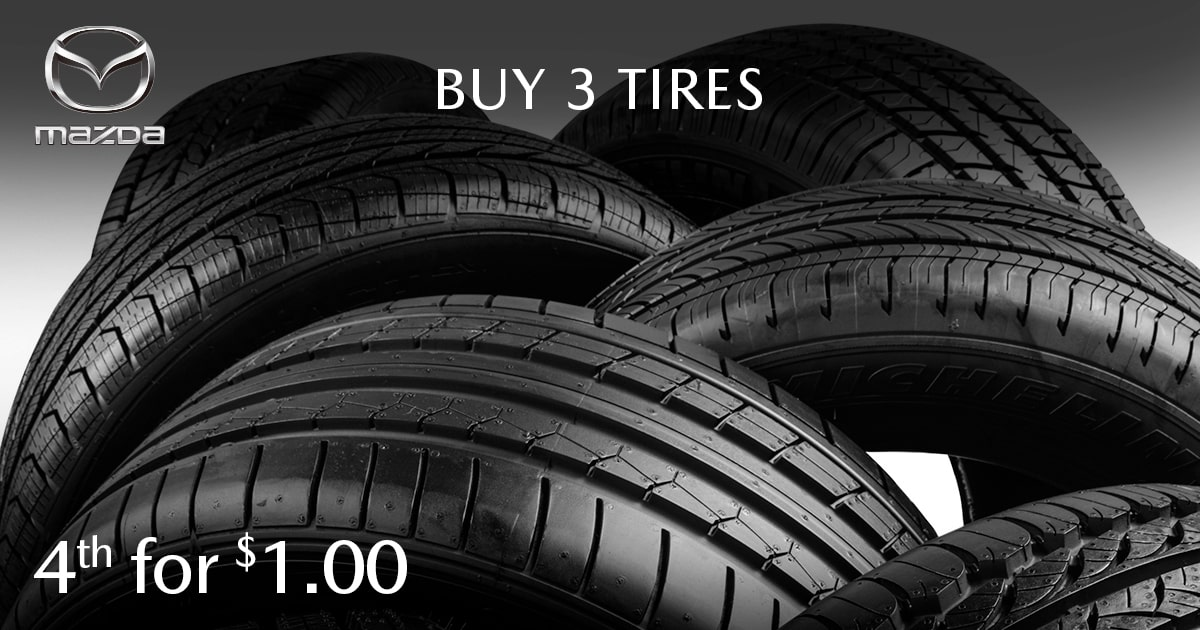Mazda Tire Special Coupon