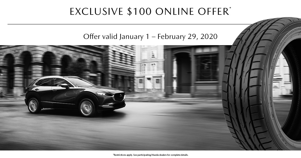 Mazda Online Only Tire Offer