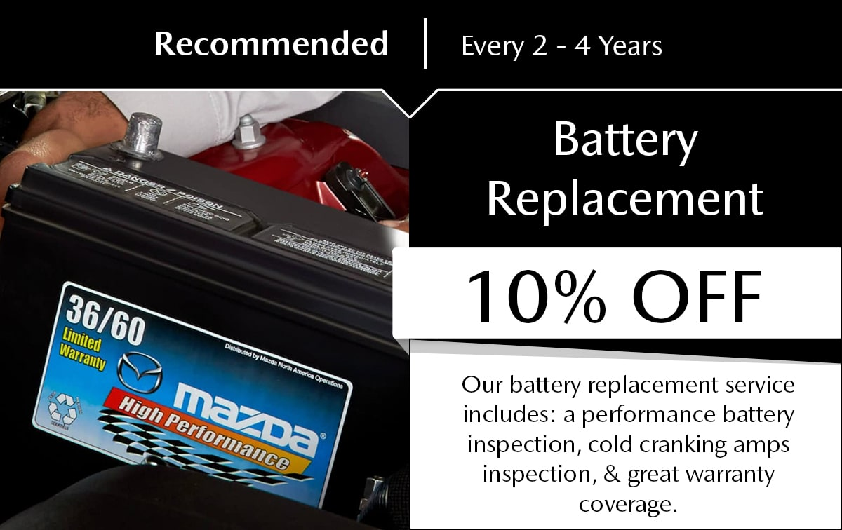 Battery Replacement special service