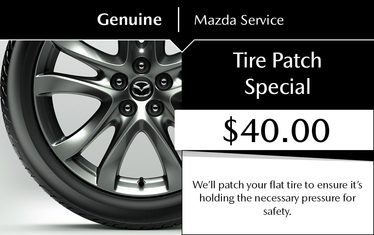 Tire Patch Service Special