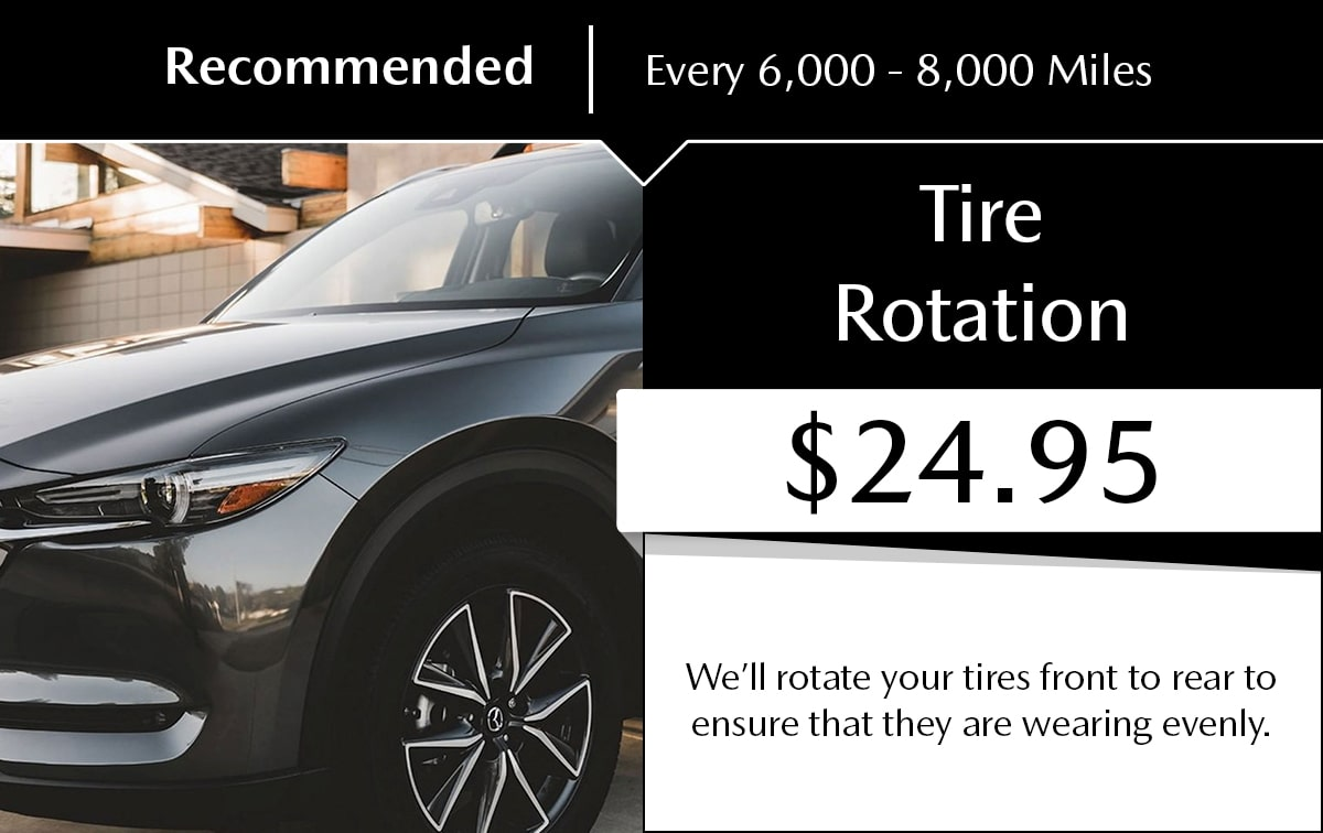 Tire Rotation Service Special