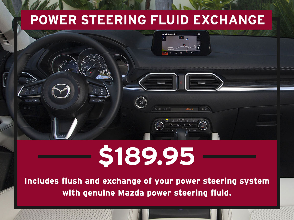 Power Steering Fluid Exchange Service Special