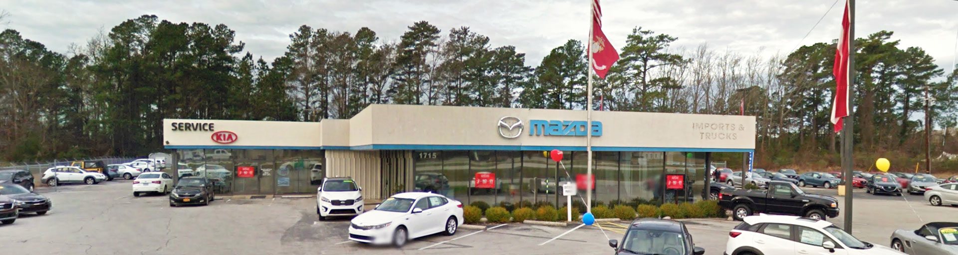 Mazda of New Bern Service Department