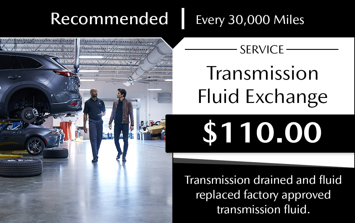 Mazda Transmission Fluid Exchange Service Special Coupon
