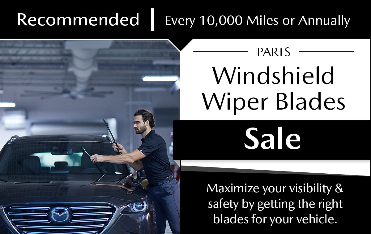 Mazda Windshield Wiper Blade Parts Special Coupon