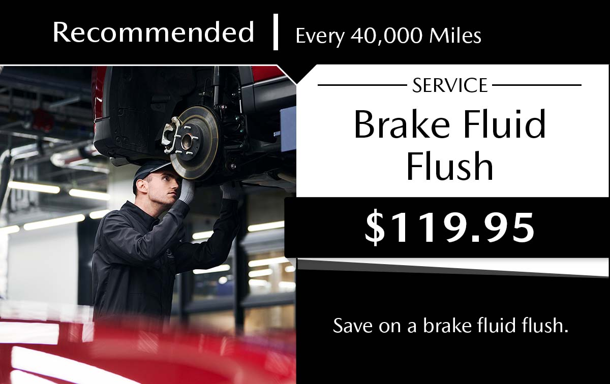 Mazda Brake Fluid Flush Service Special Coupon