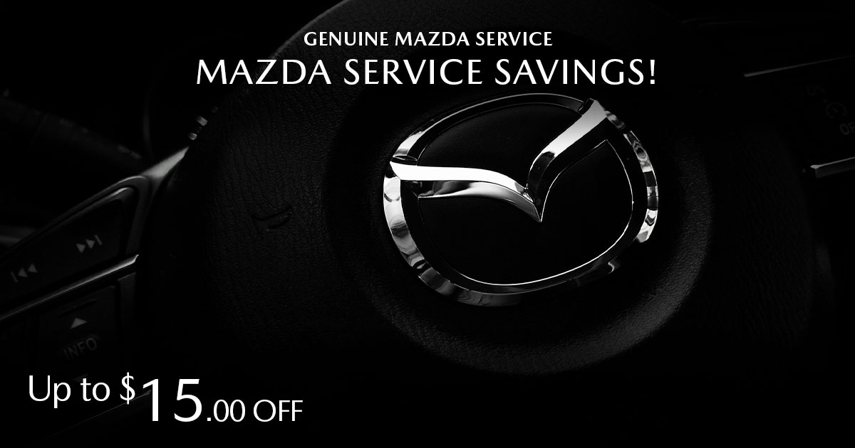Mazda Service Savings Service Special Coupon