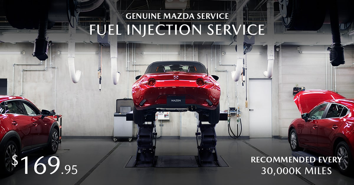 Mazda Fuel Injection Service Special Coupon