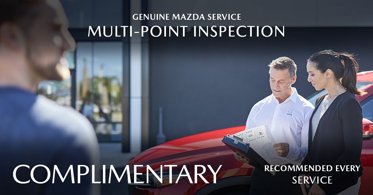 Mazda Multi-Point Inspection Service Special Coupon