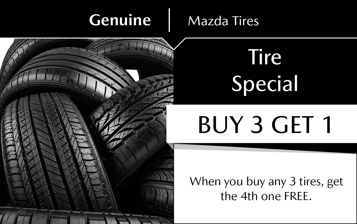 Mazda Tire Special Special Coupon