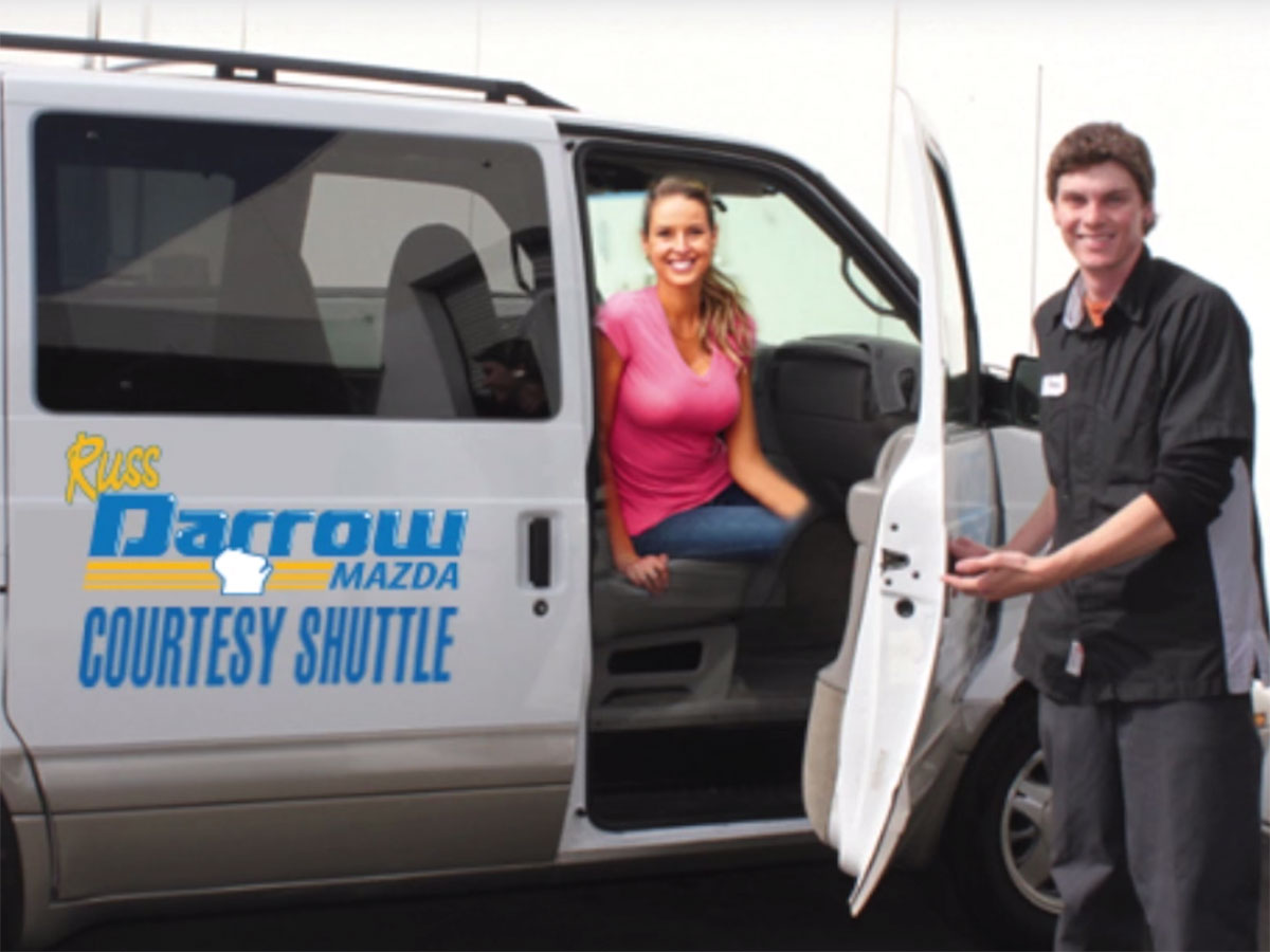 Russ Darrow Mazda of Madison Shuttle Service