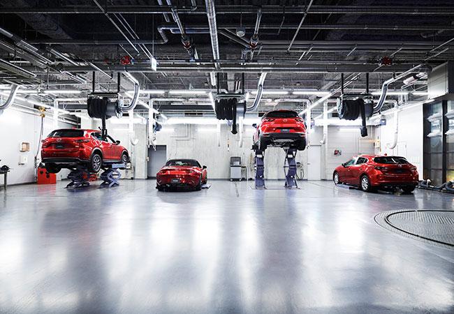 Mazda Service Bay