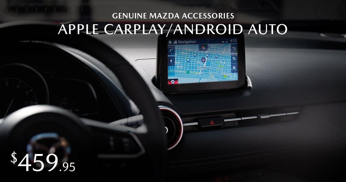 Mazda Apple CarPlay/Android Auto Coupon