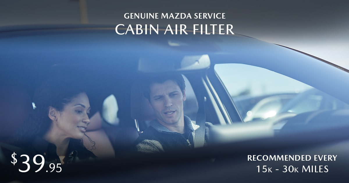 Mazda Cabin Air Filter Service Special Coupon