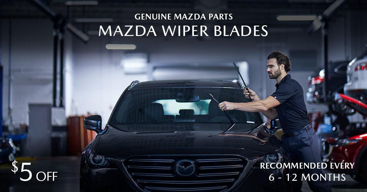 Mazda Wiper Blades Service Special Coupon