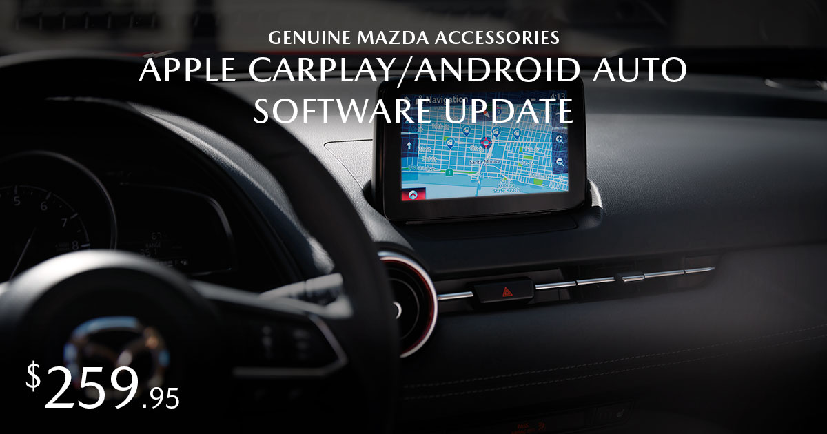 Mazda Apple CarPlay/Android Auto Coupon