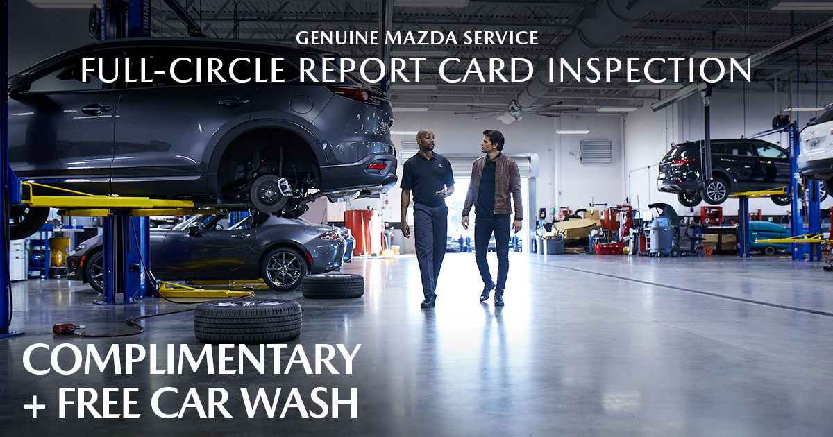 Mazda Full-Circle Inspection Service Special Coupon