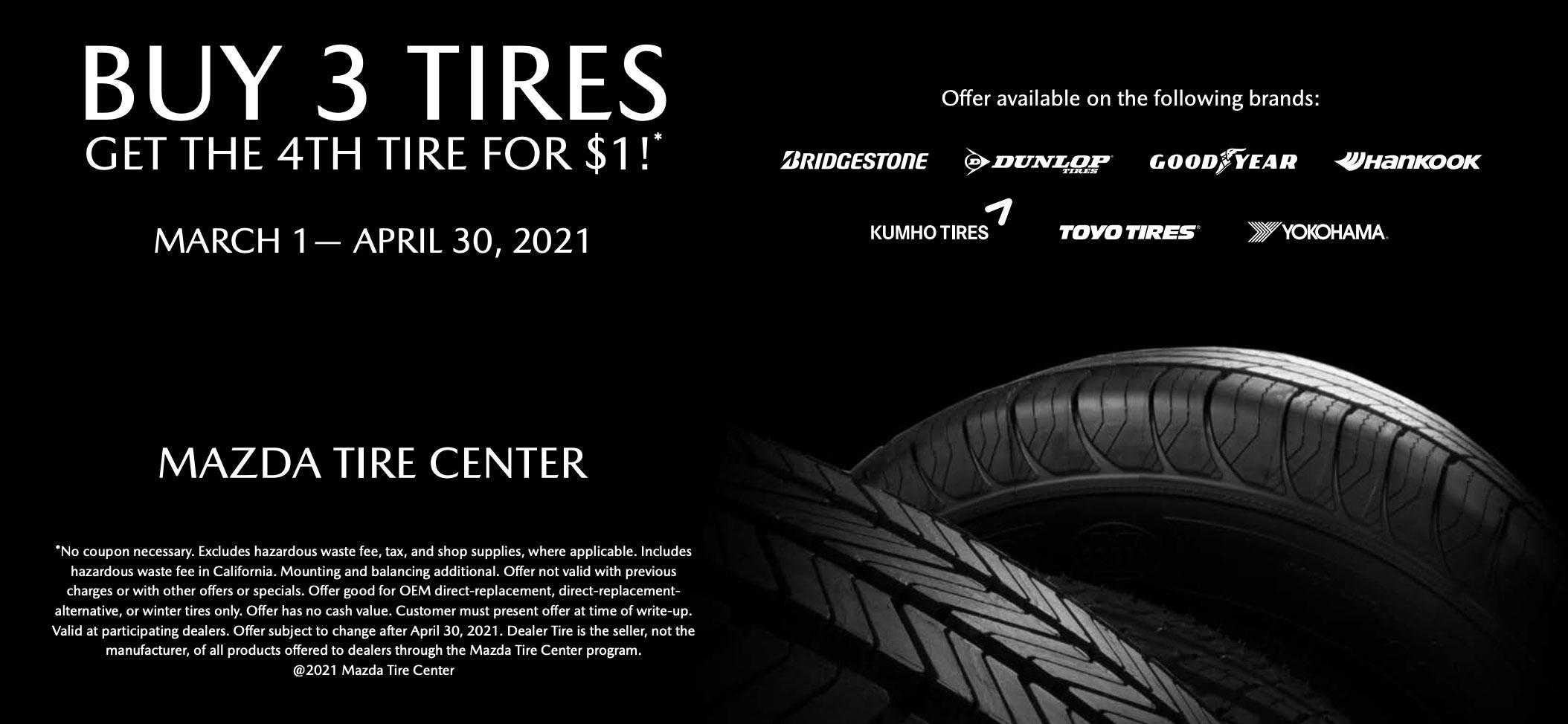 Mazda Tire Special