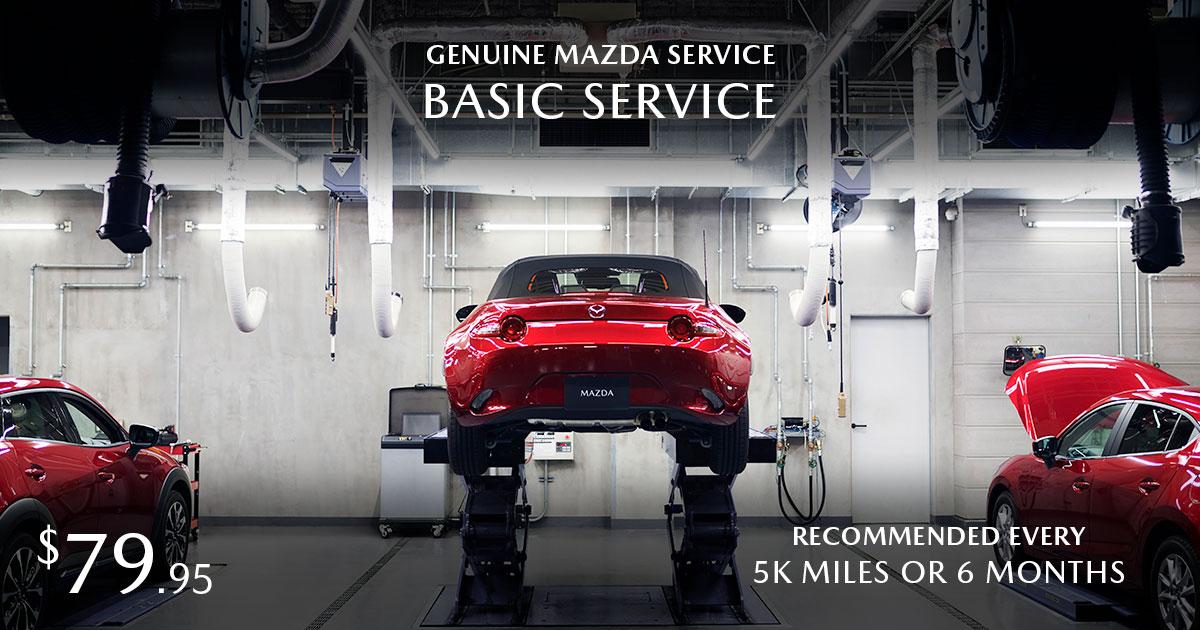Mazda Basic Service Special Coupon