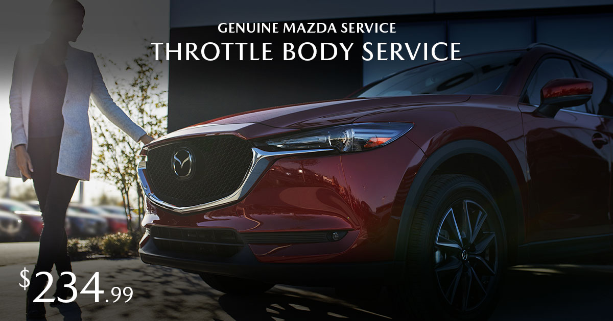 Mazda Throttle Body Service Special Coupon