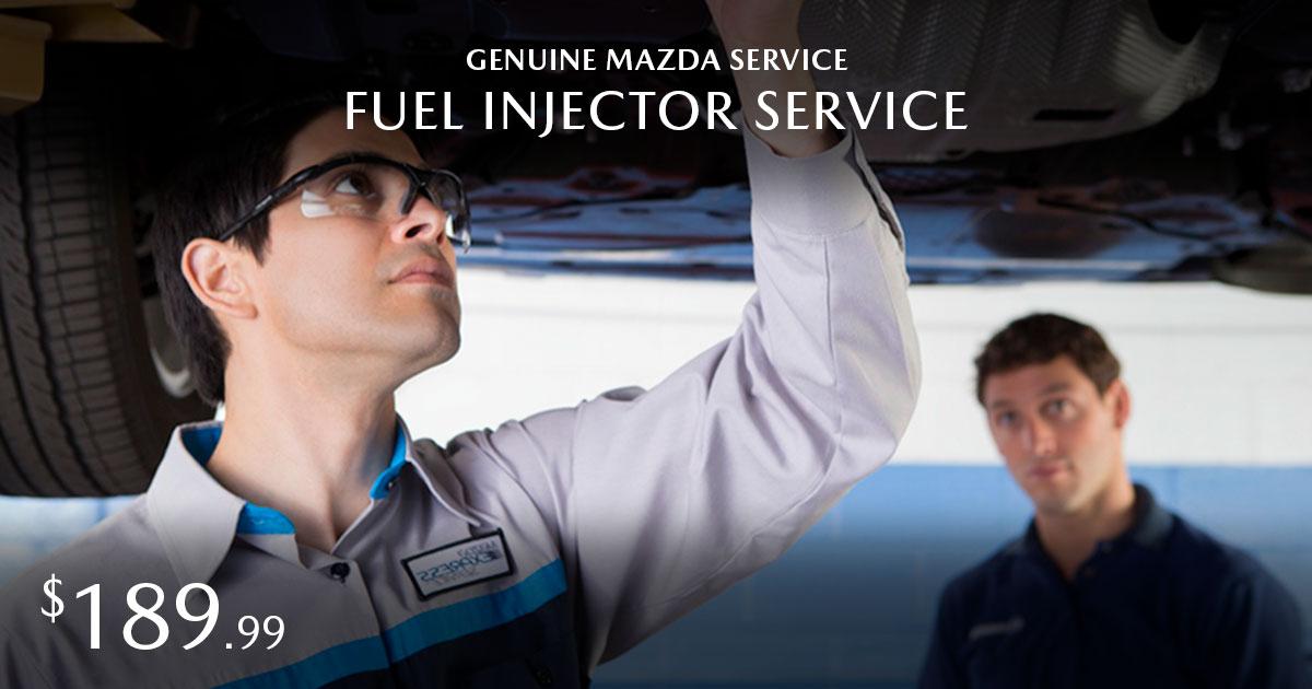 Mazda Fuel Injector Service Special Coupon