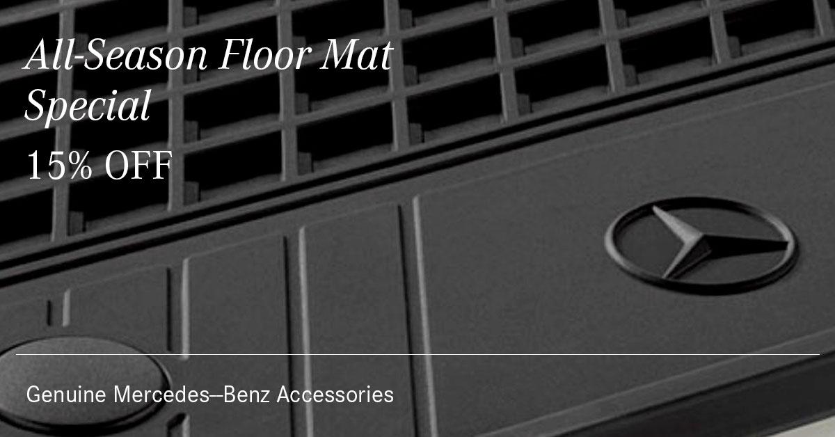 Mercedes All-Season Floor Mat Special Coupon