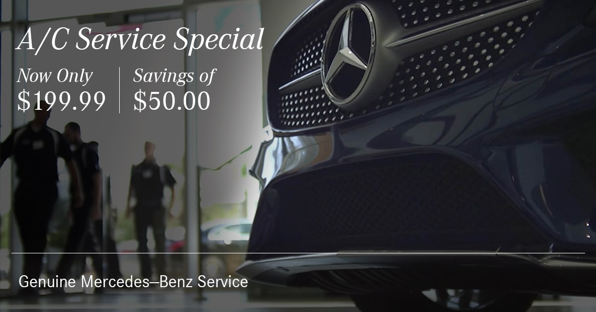 Mercedes A/C Service Special Coupon