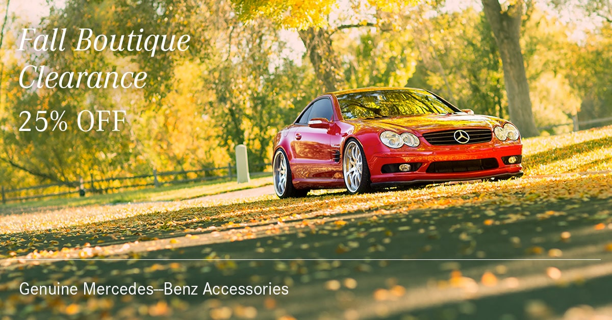 Mercedes Fall Boutique Clearance Coupon