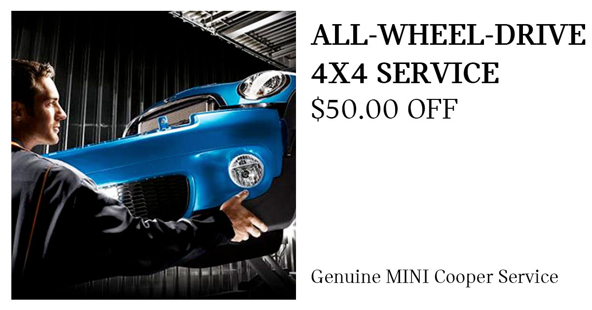 MINI All-Wheel Drive Service Special Coupon