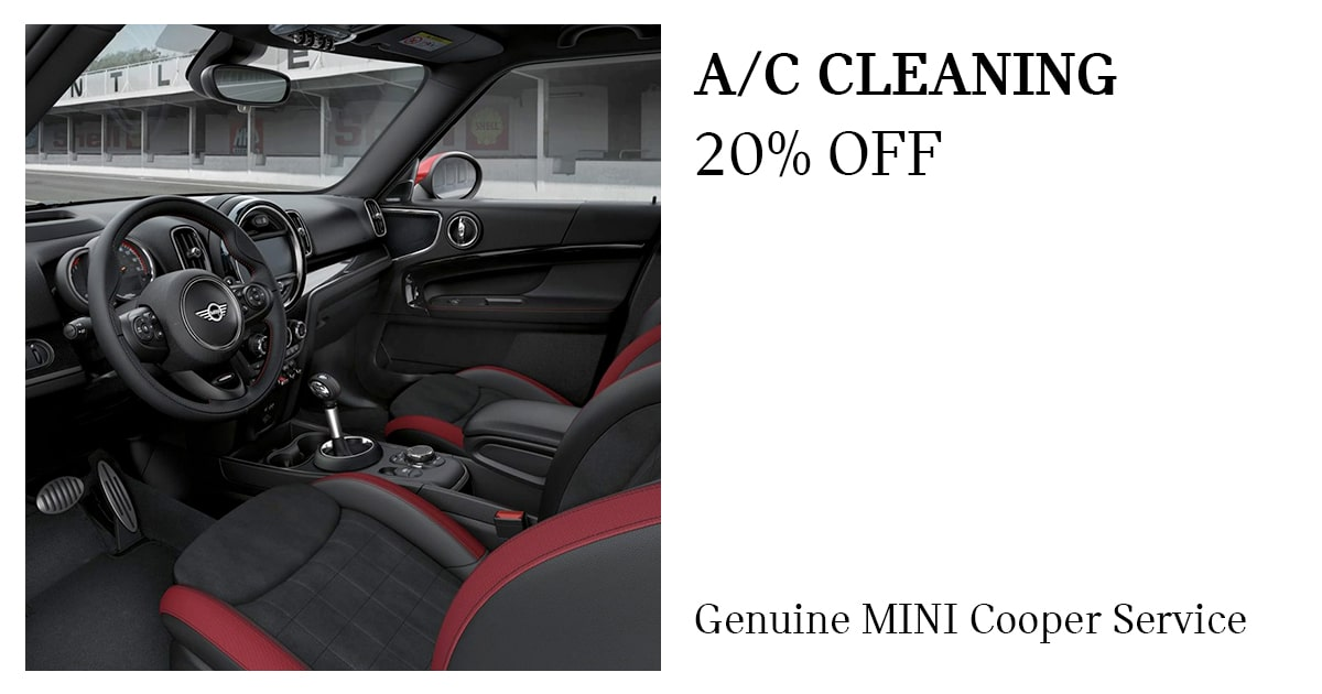 MINI A/C Cleaning Service Special Coupon