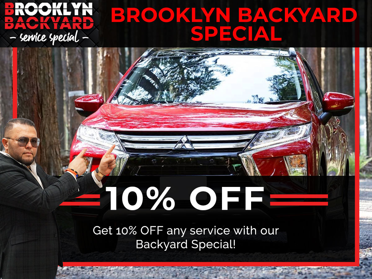 Brooklyn Backyard Special Coupon