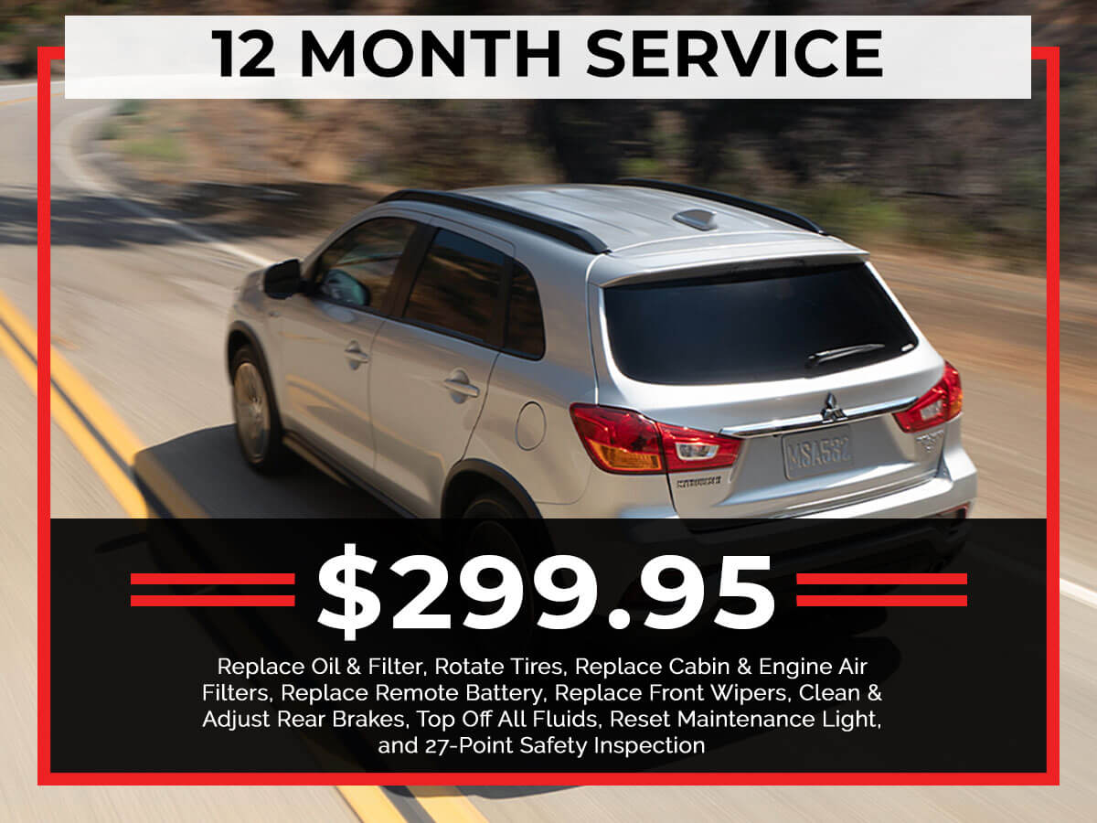 12 Month Service Special Coupon