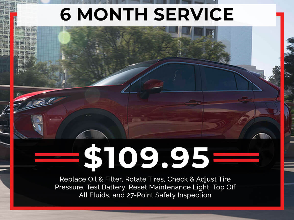 6 Month Service Special Coupon