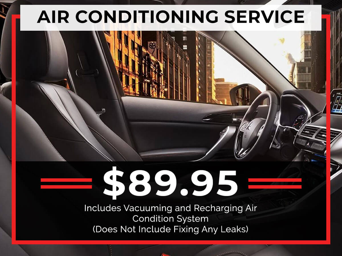 Air Conditioning Service Special Coupon
