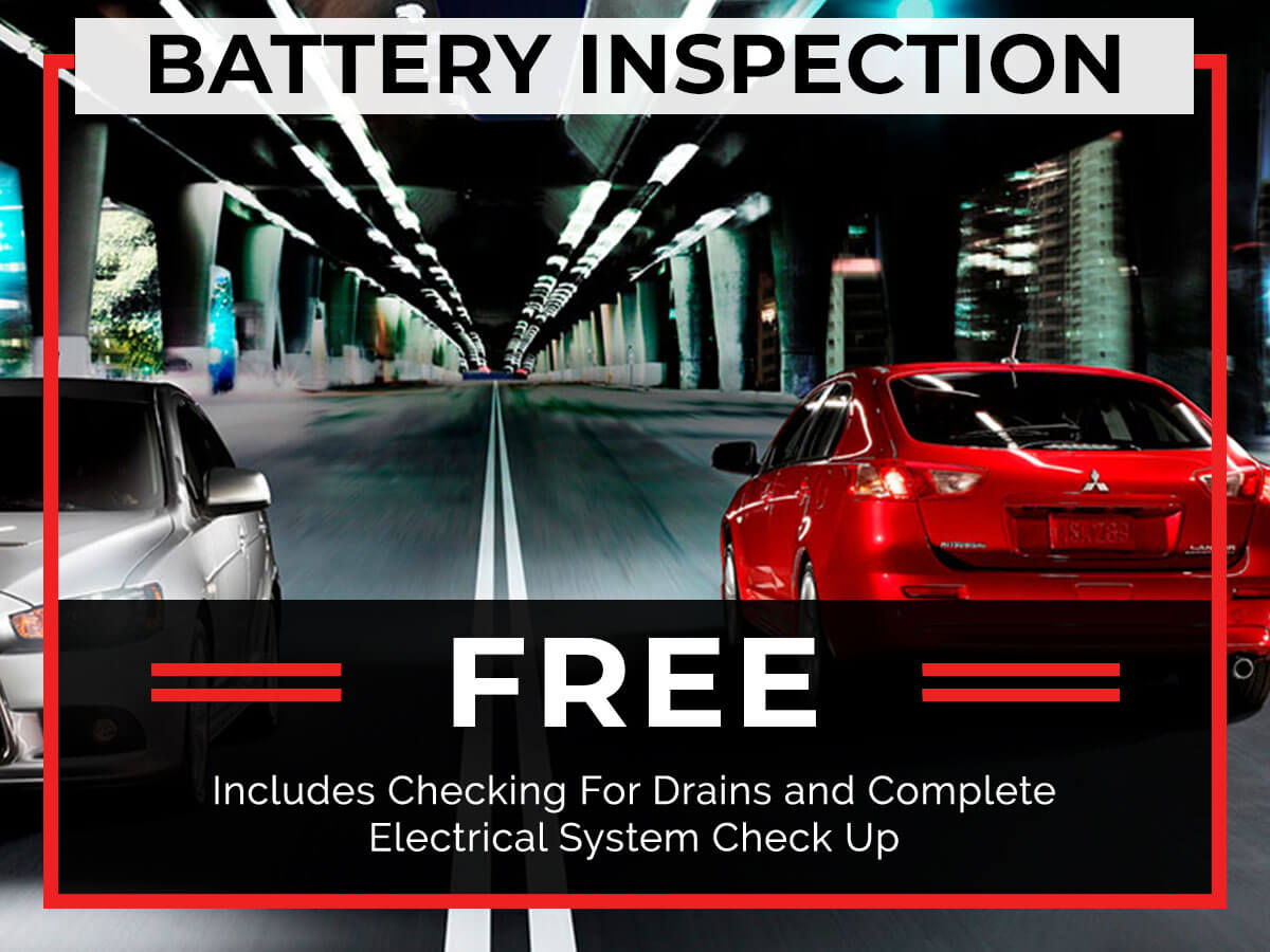 Free Battery Inspection Service Special Coupon