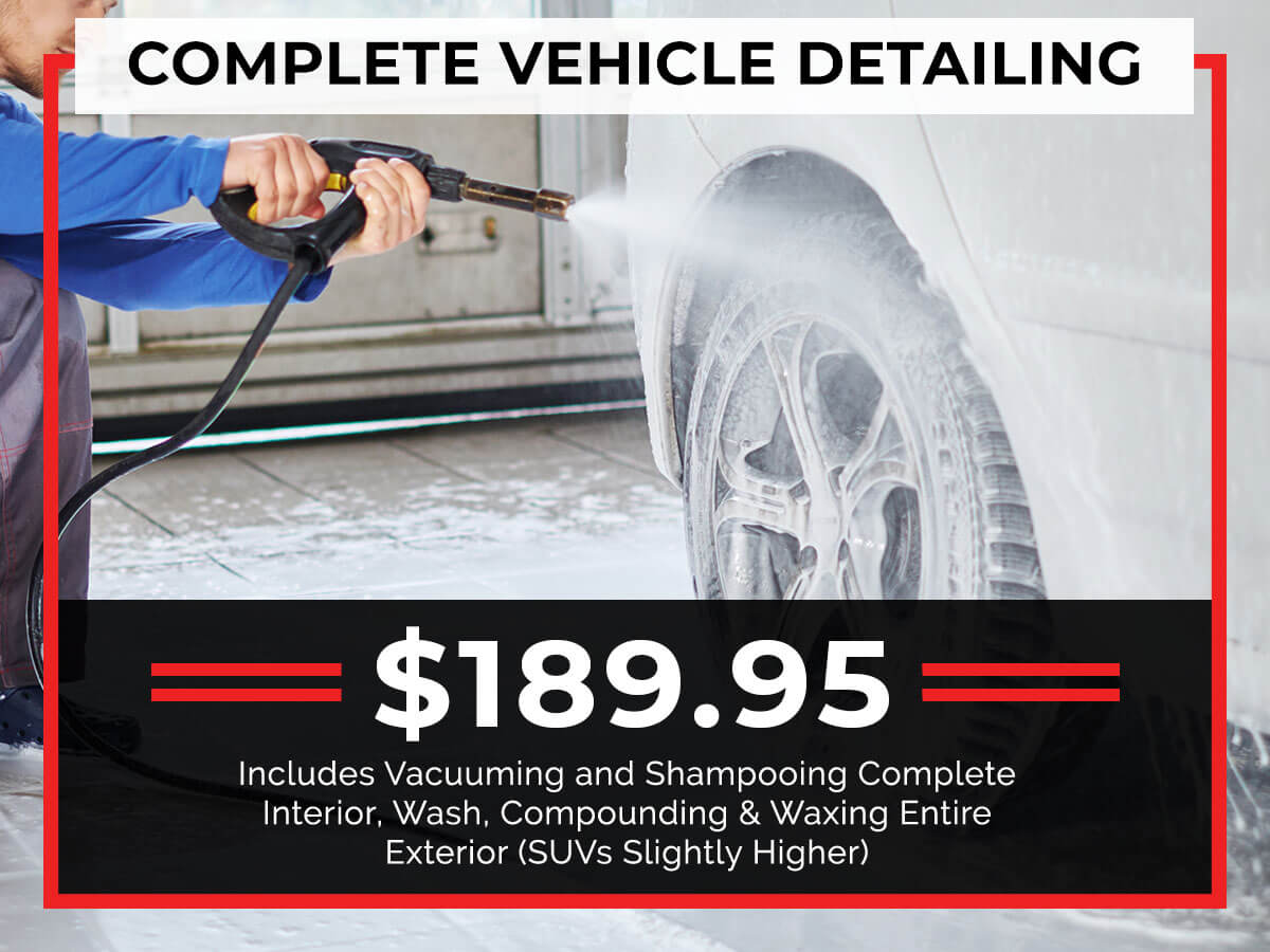 Complete Vehicle Detailing Service Special Coupon