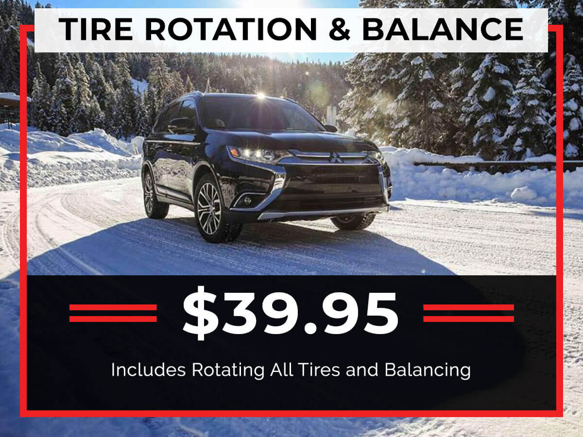 Tire Rotation with Balance Service Special Coupon