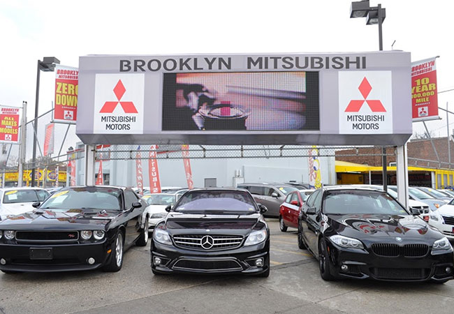 Brooklyn Mitsubishi Sign