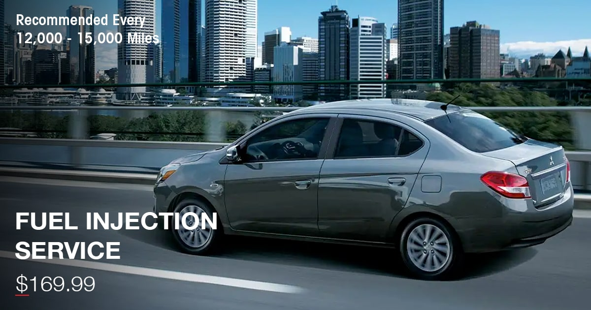 Mitsubishi Fuel Injection Service Special Coupon