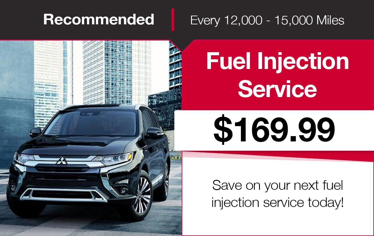 Mitsubishi Fuel Injection Service Coupon