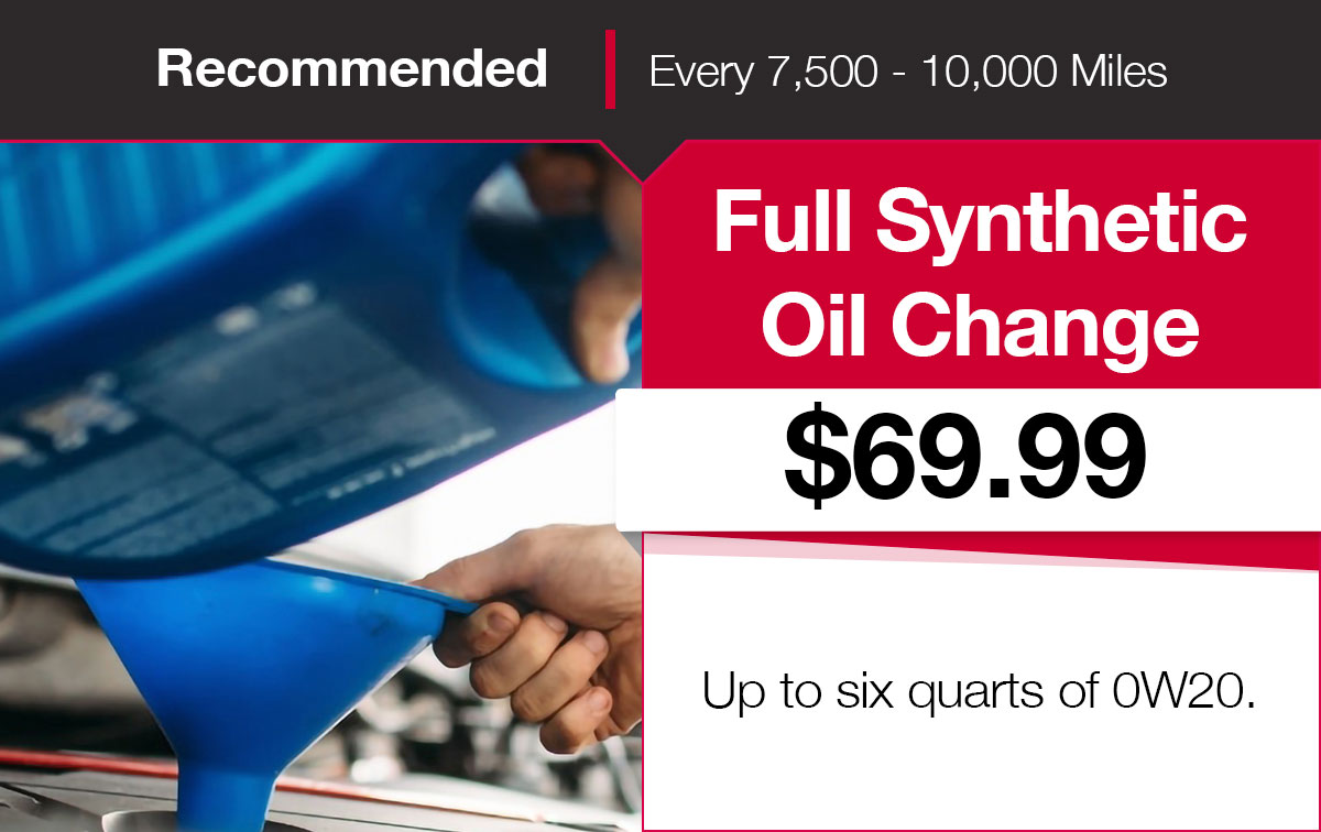 Mitsubishi Synthetic Oil Change Coupon