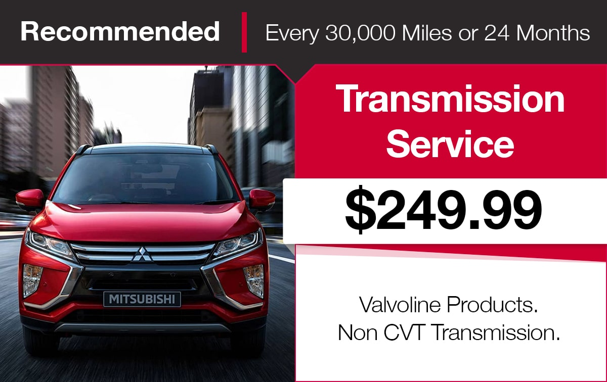 Mitsubishi Transmission Service Coupon