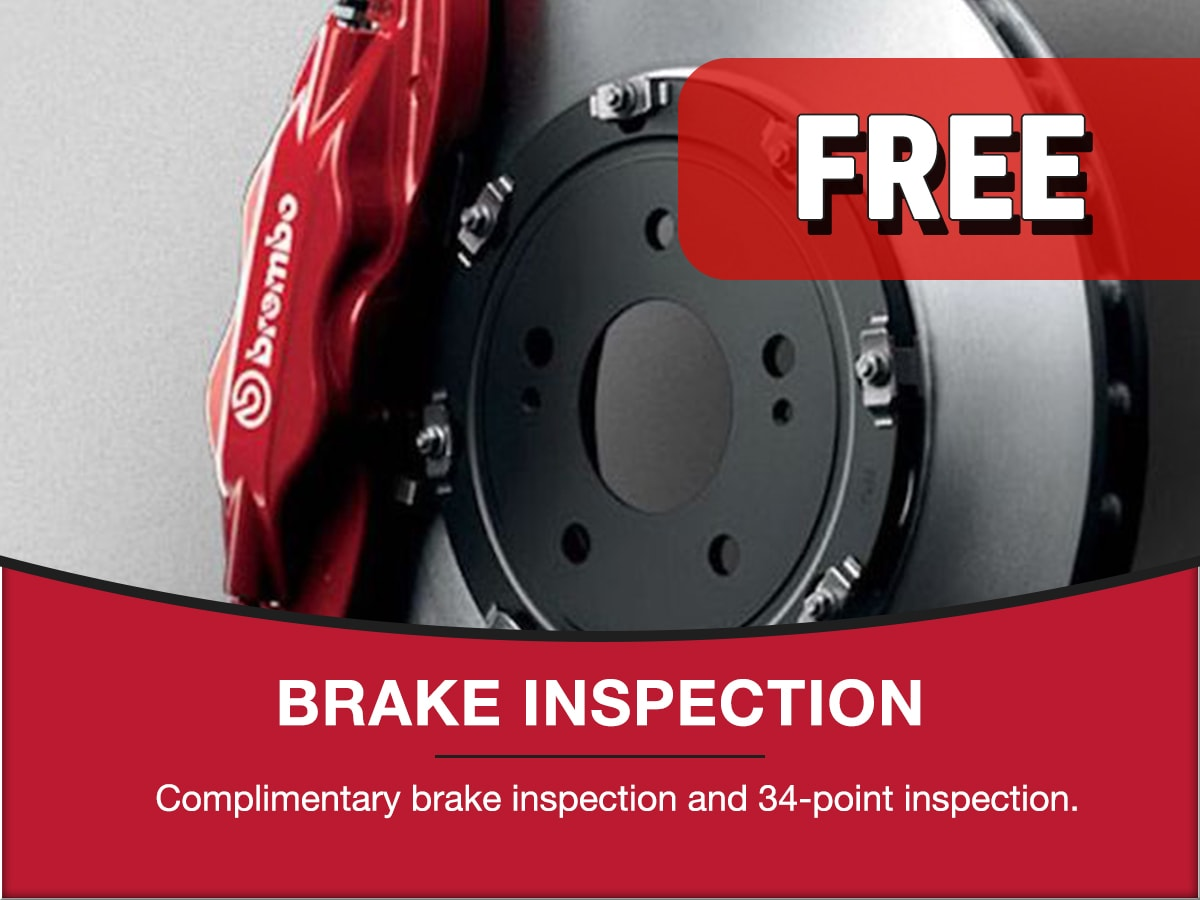 Brake Inspection Special Coupon