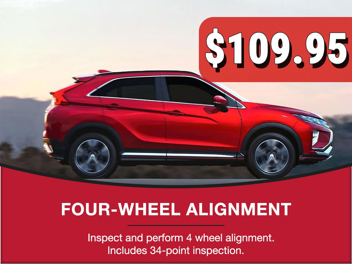 4-Wheel Alignment Special Coupon
