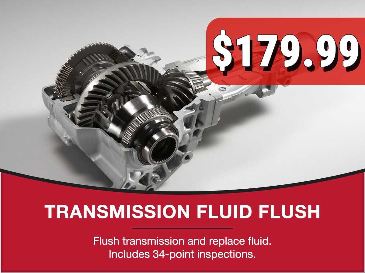 Transmission Fluid Flush Special Coupon