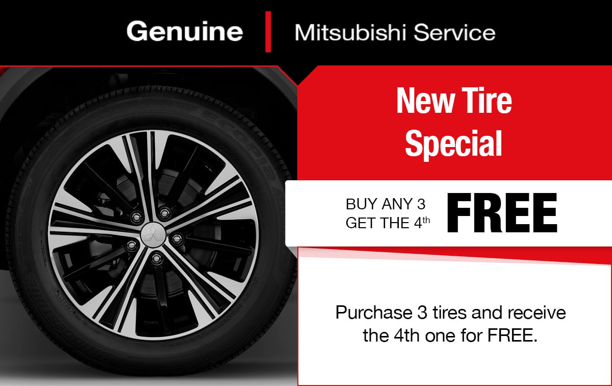 Mitsubishi Tire Special Coupon