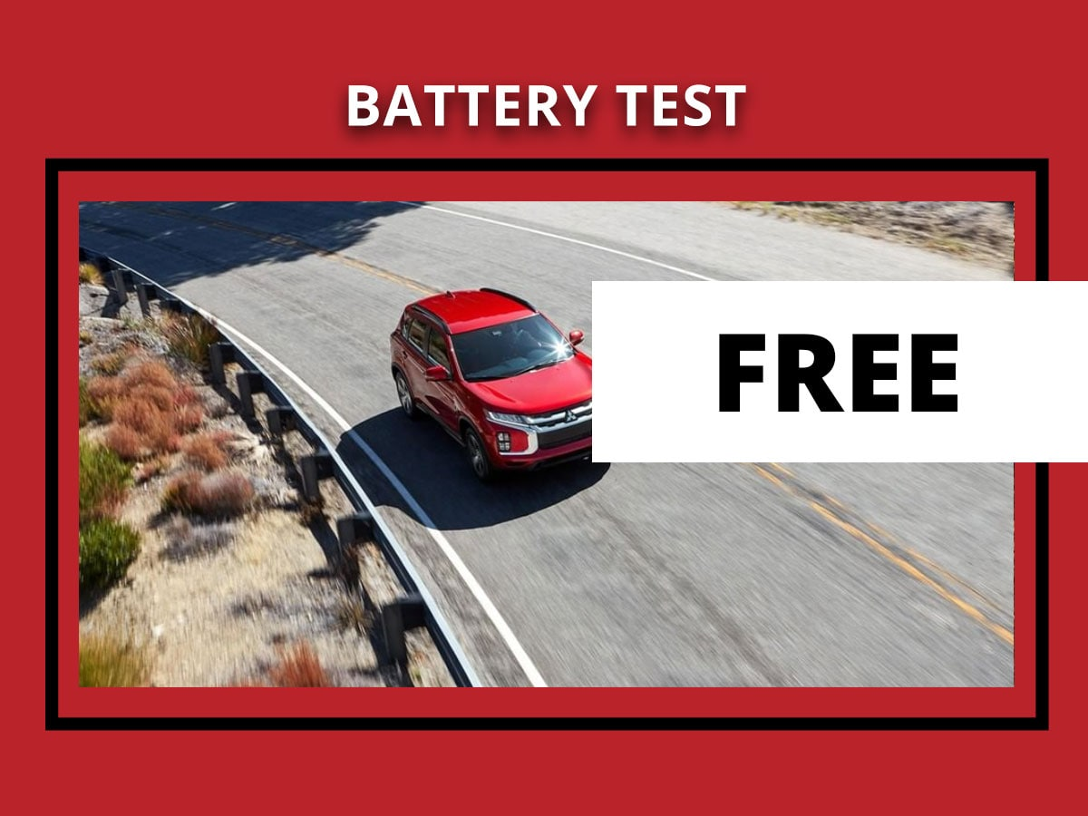 Mitsubishi Battery Test Service Coupon