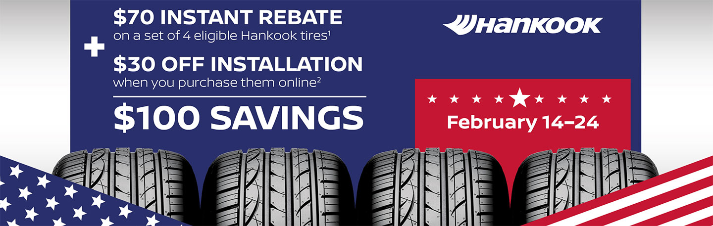 Nissan Tire Event Special Coupon